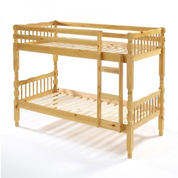 **CLEARANCE** Amazon Pine Solid Wooden Bunk Bed with Mattress of Choice