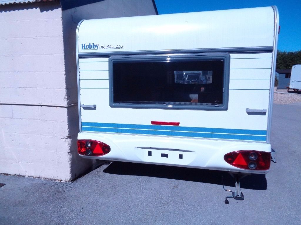 hobby 620 uk specail 2001 touring caravan with no water no toilet