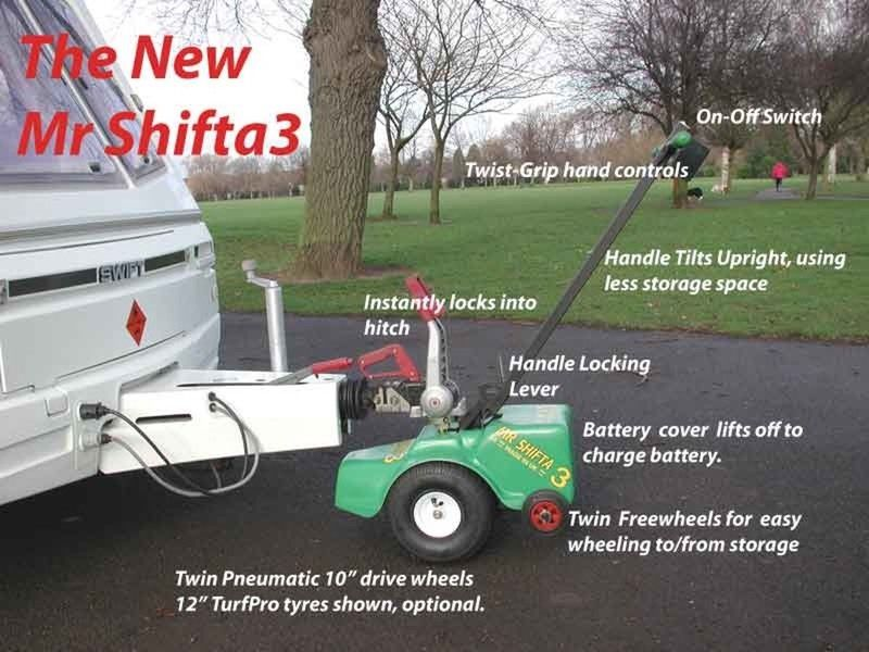 Mr Shifta 3 caravan boat trailer motor mover