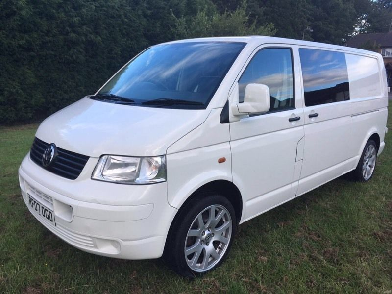 Vw t5 transporter 1.9tdi 102bhp 2007 fsh 9m mot camper new conversion