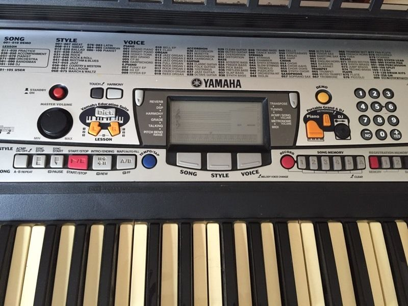 Yamaha - PSR-GX76 Bass boost keyboard