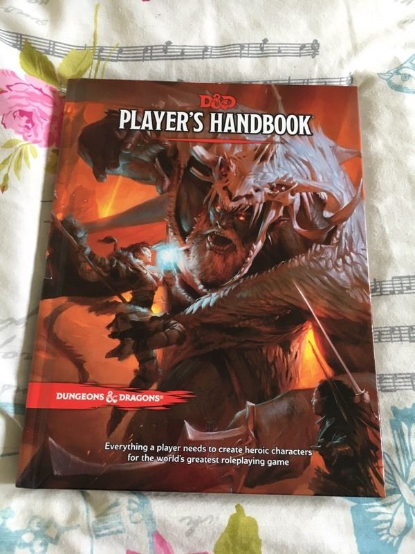 Dungeons and Dragons 5th Edition Players Handbook