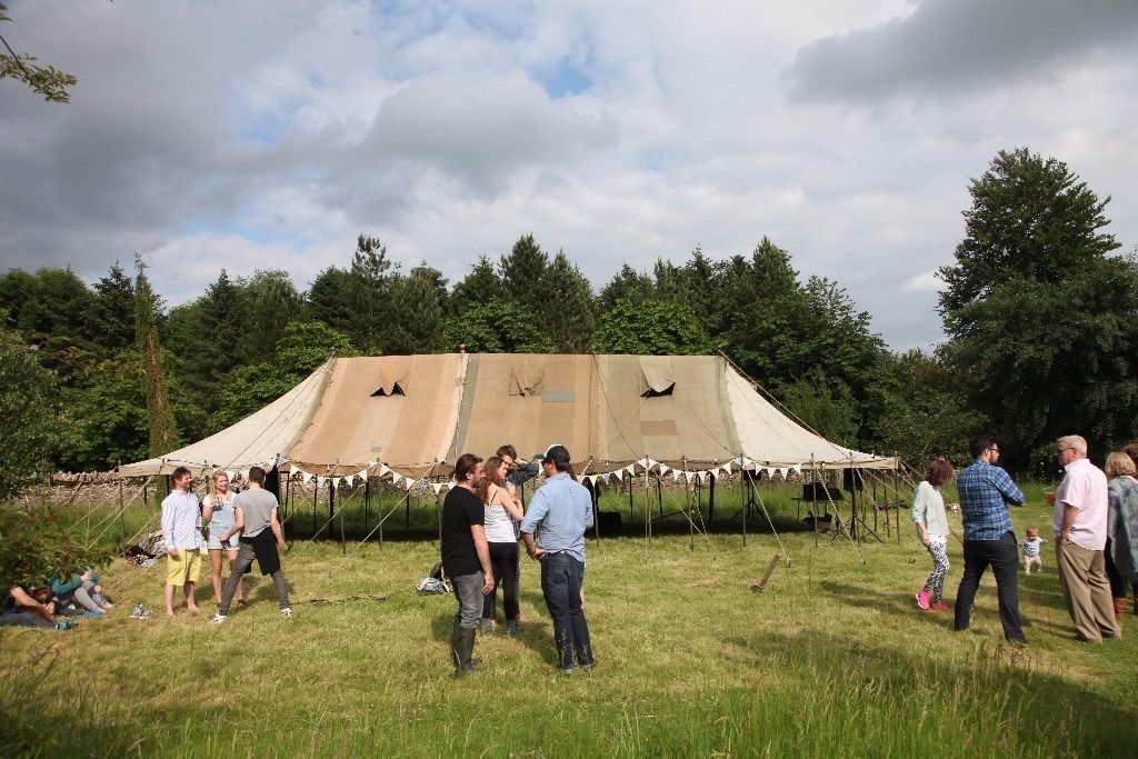 Vintage Military Marquee for hire alone or as complete package...