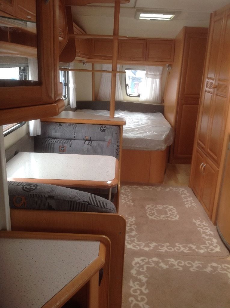 Hobby prestige 23ft German spec caravan