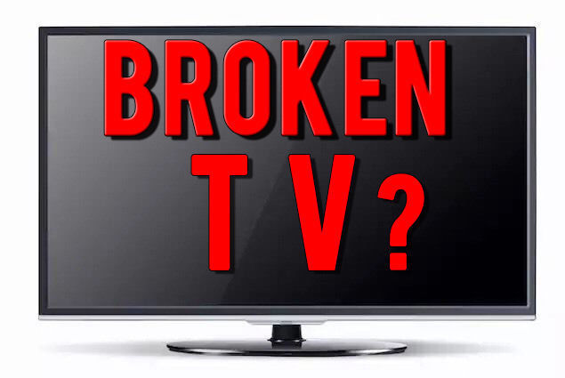 WANTED CASH PAID FOR FAULTY SCRAP BROKEN TV