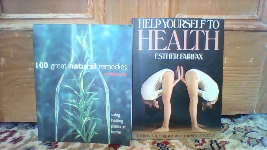 Healthy living books - Massage, Pilates (NEW WITH DVD), Health and Natural Remedies
