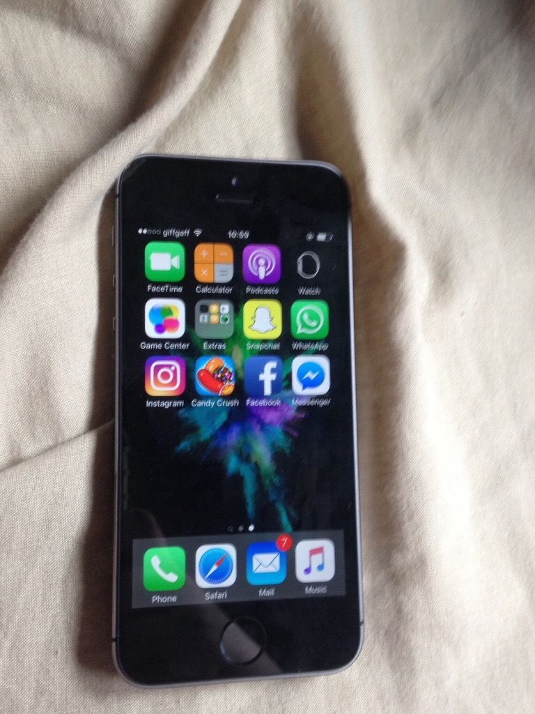 iphone 5a space grey 16gb