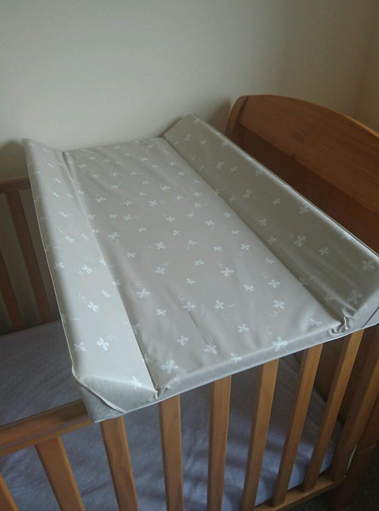 Mothercare padded cot top changer