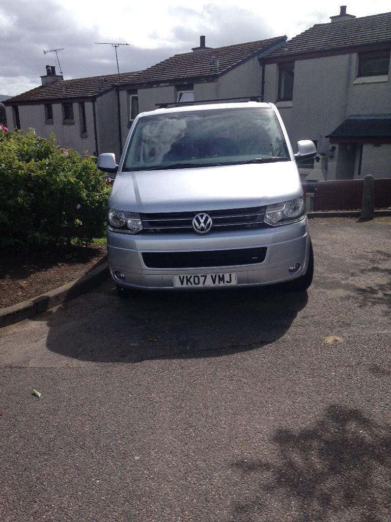 VW T5 campervan conversion with facelift