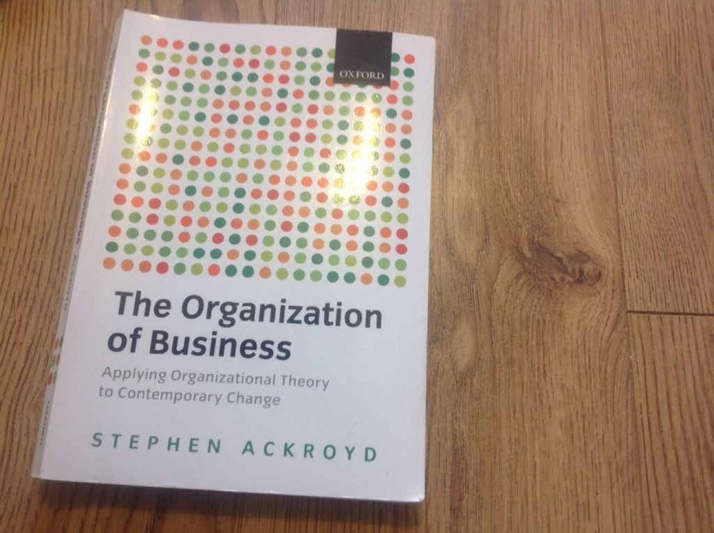 The organisation of business
