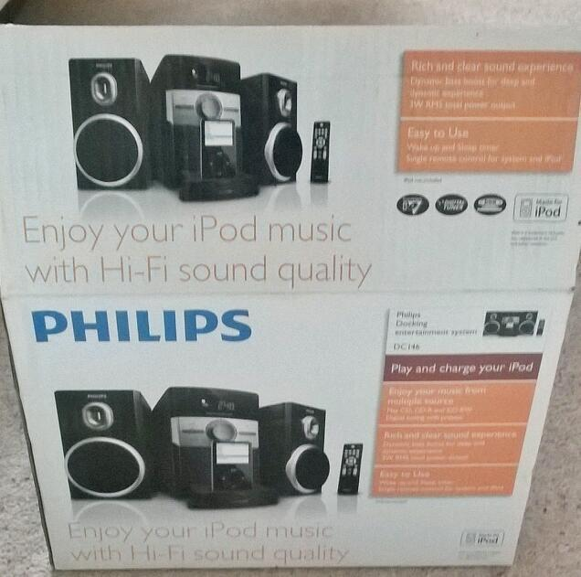Philips mini hifi