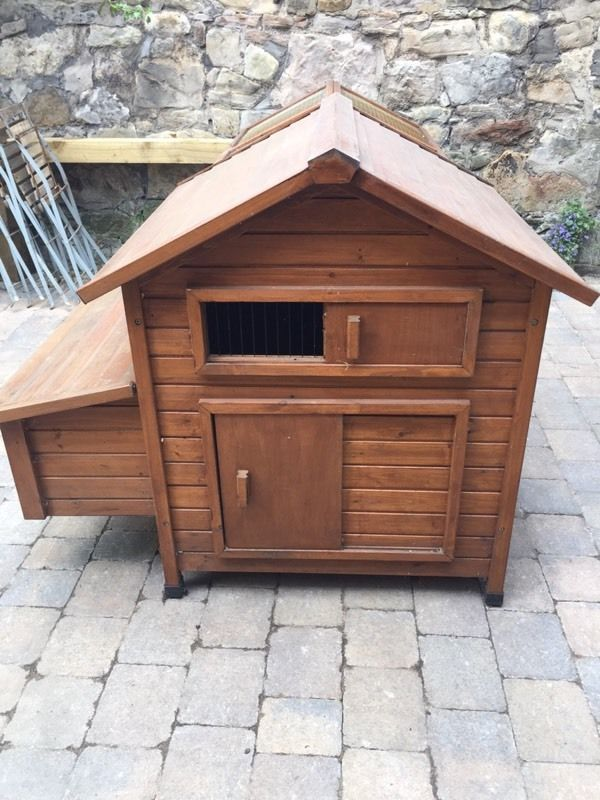 Devon wooden hen house coop and run