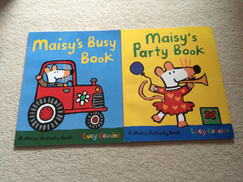 2 x Maisy's Party Book and Busy Books