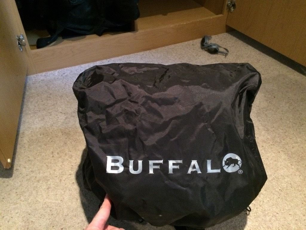 Buffalo motorcycle tail pack