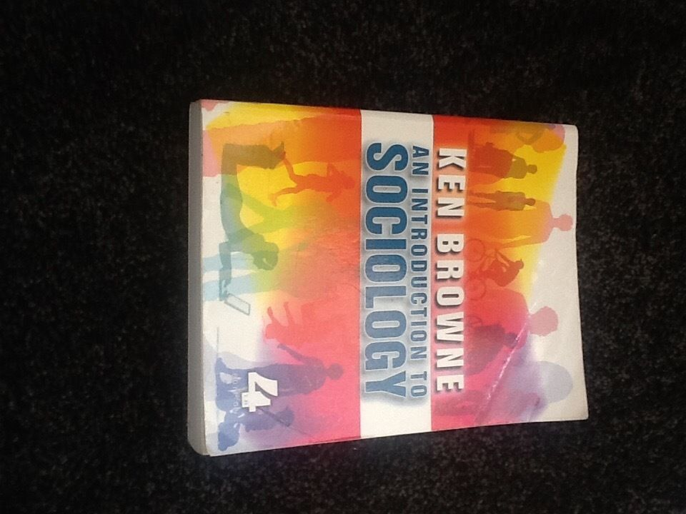 Introduction to sociology by Ken Browne