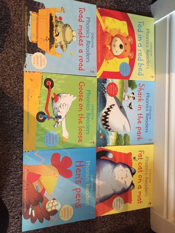 Phonics Children Reading Books