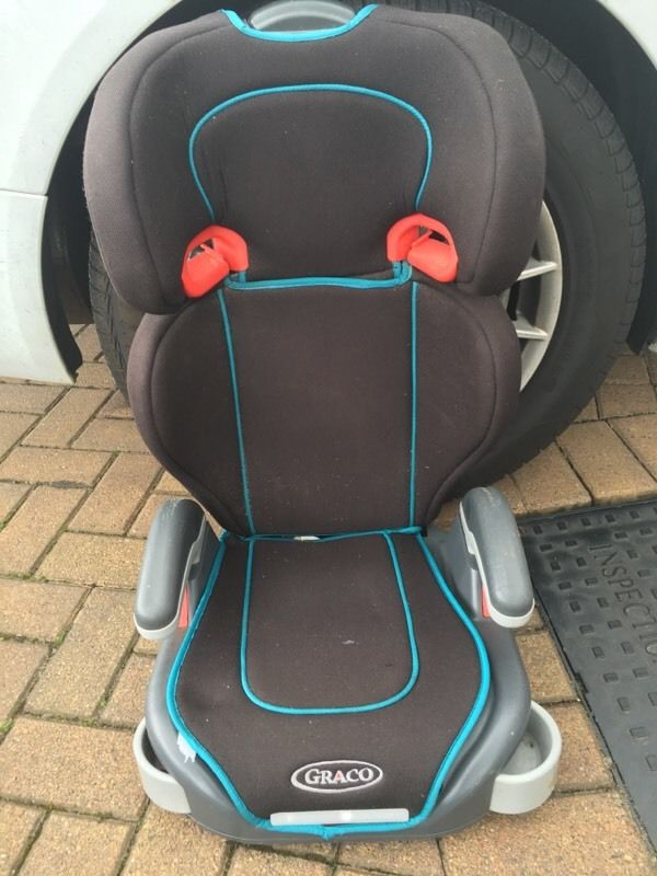 Graco car booster seat with cup holders