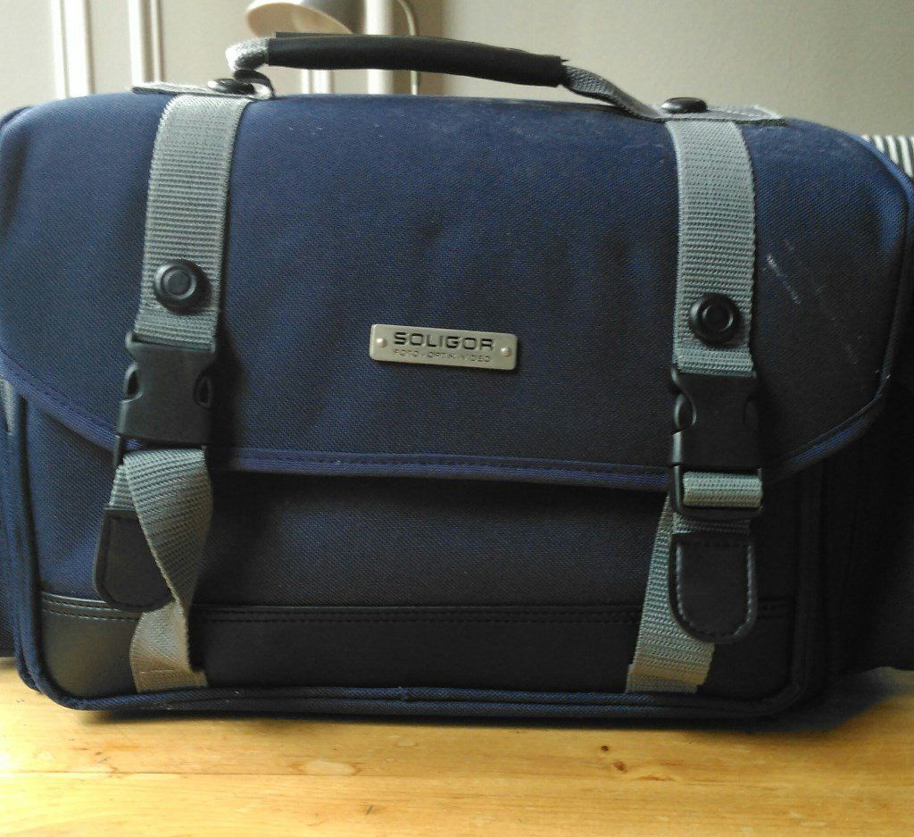 Variety of camera bags. Good condition.