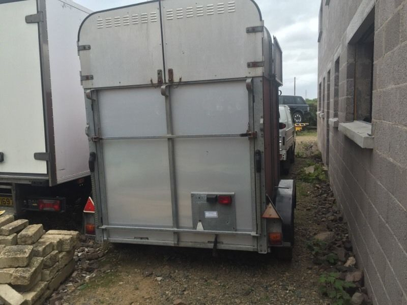 Ifor Williams Horse Box Trailer