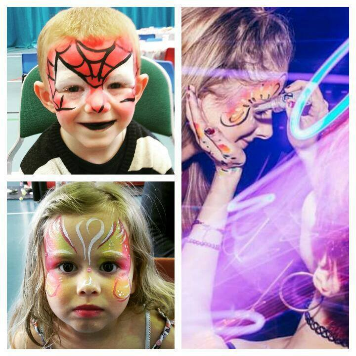 Fantastic Face Painting and Glitter Tattoos