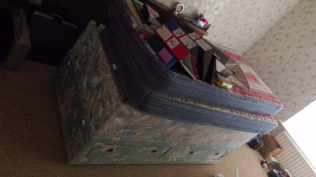 2 Single Double Beds and mattresses for sale