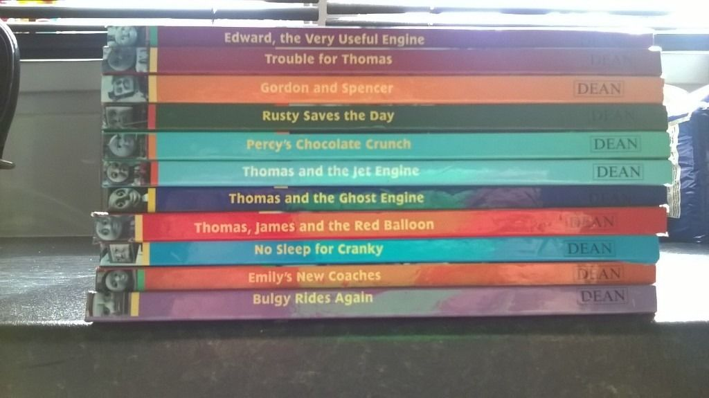 11 thomas the tank hardback books