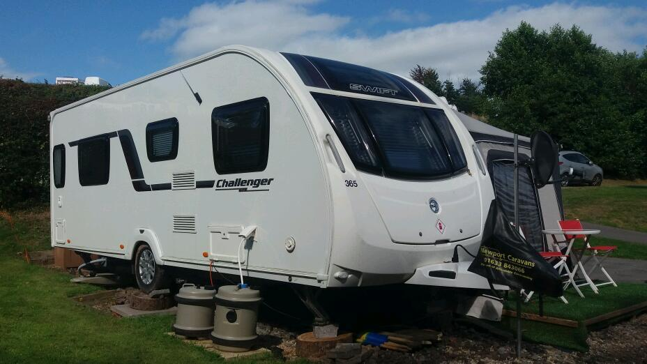 Caravan Swift Challenger 2014