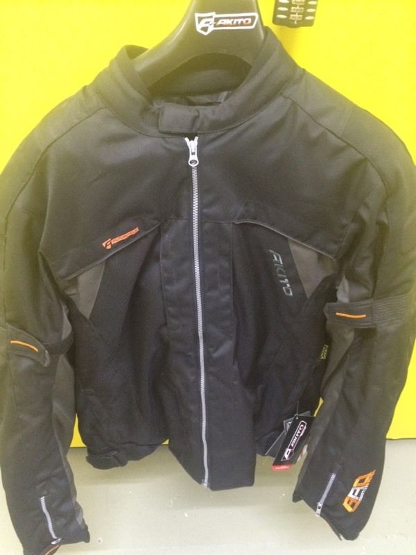 Men's Akito Edge Evo Textile Jacket Size XL
