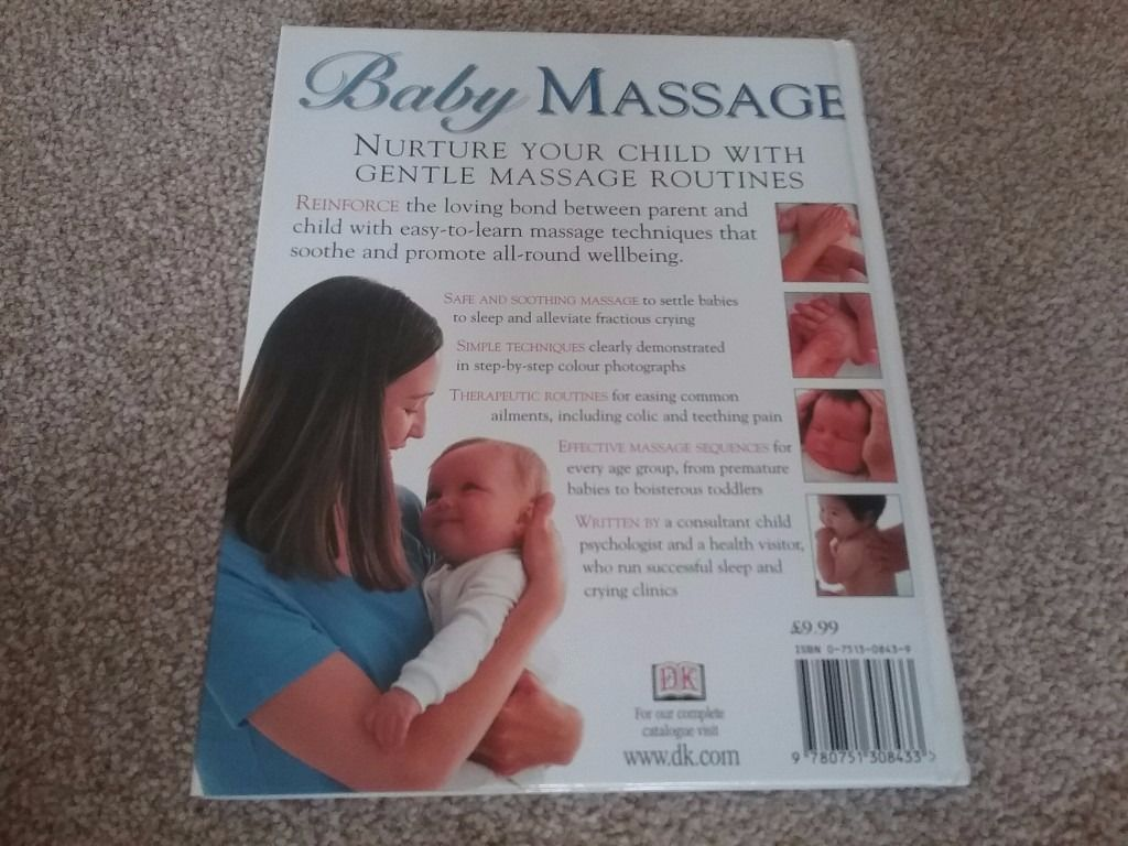 'Baby Massage' The Calming Power of Touch Book