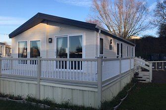Luxury lodge on lakeside pitch, Oaklands, St Osyth near Clacton, Colchester, walton, essex CO16 8HW