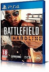 battlefield hardline ps4 game / mint condition / for sale or swaps