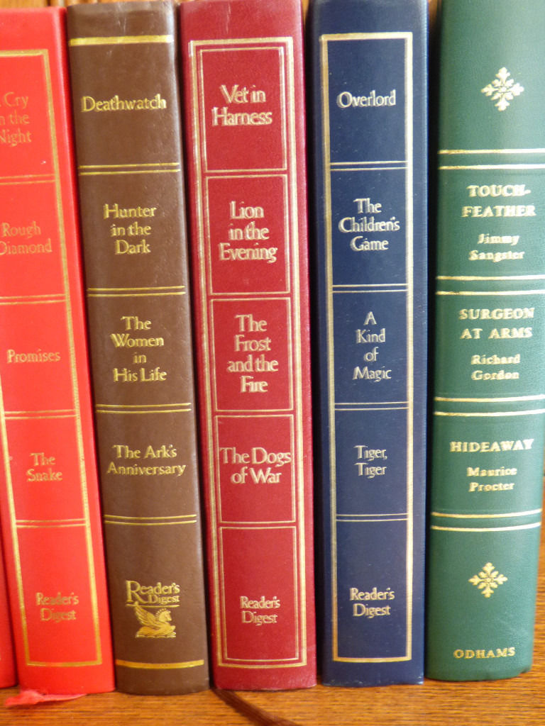 25 HARDBACK READERS DIGEST BOOKS FOR DISPLAY
