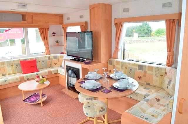 Ideal Family Starter Caravan in Southerness - By the Beach in Coastal Village