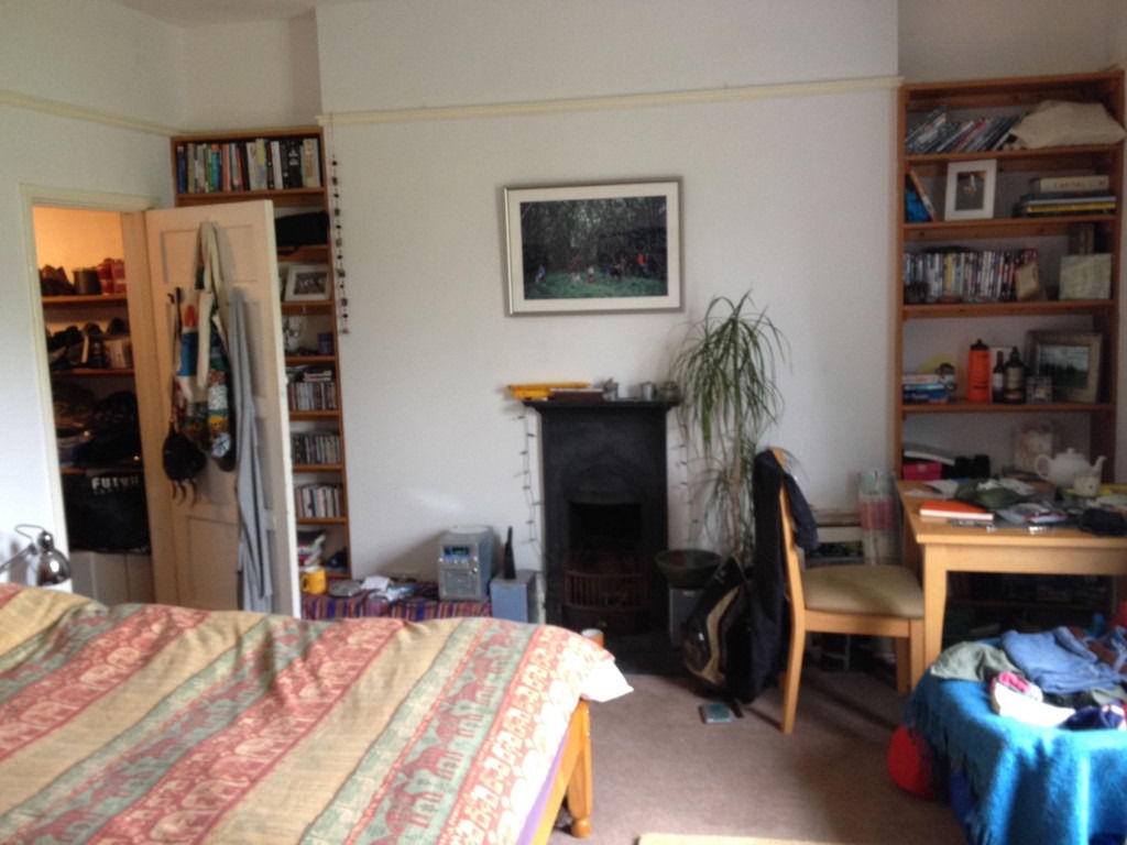 Lovely Large Room with Garden View in Montpelier House