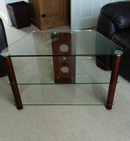Demagio Glass TV Cabinet