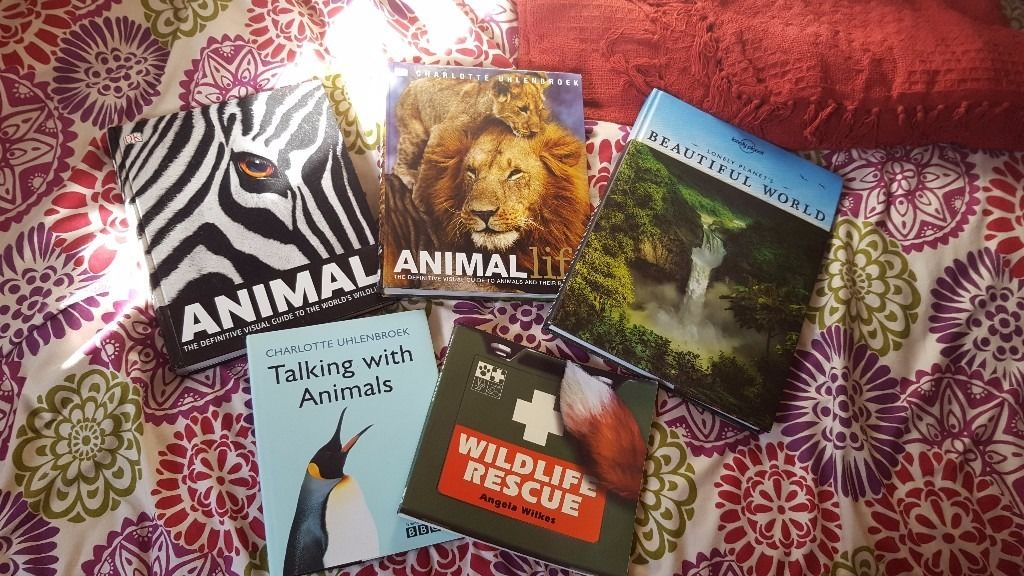 Set of five animal / nature books - ideal gifts for any age!