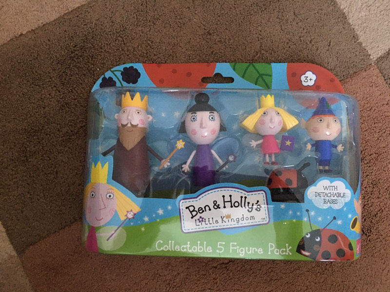 Ben and Holly's Little Kingdom figure pack 3+