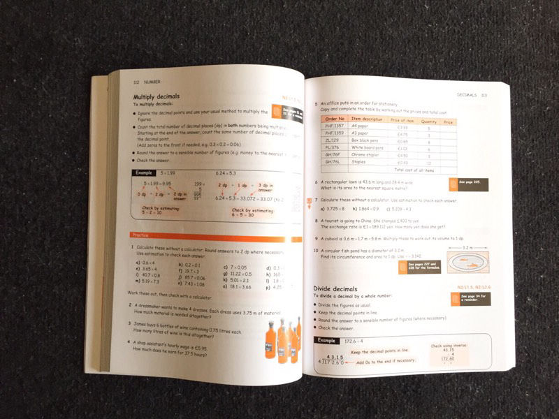 Maths The Basic Skills Work Book