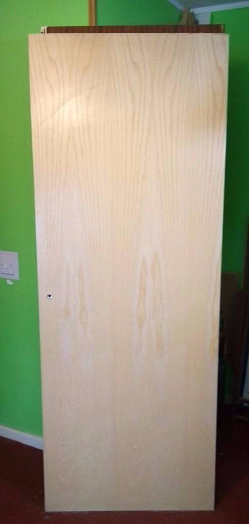 BRAND NEW fire door, height 198cm (78inch) x width 76cm (30inch) - CAN BE DELIVERED