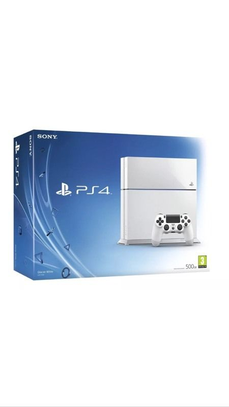 Used white ps4 for sale
