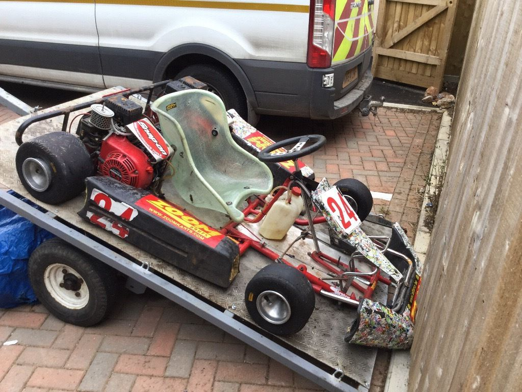 Honda go kart complete with trailer and spares **still available**
