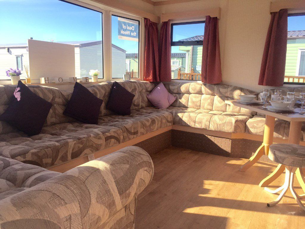 CHEAP STATIC CARAVAN ISLE OF WIGHT FINANCE AVAILABLE ROOKLEY COUNTRY PARK NEAR THORNESS BAY