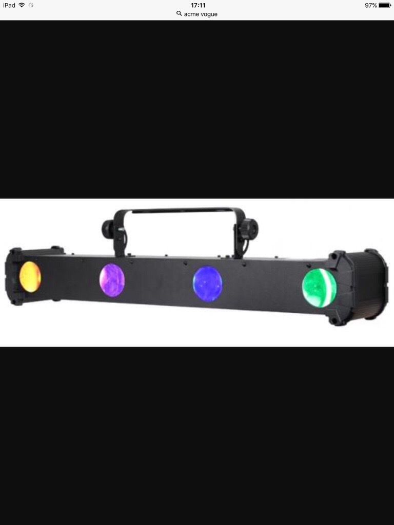 FOR QUICK SALE.*REDUCED* ACME VOGUE DJ LIGHT