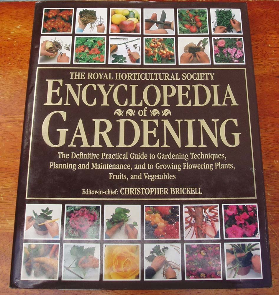 THE RHS ENCYCLOPEDIA of GARDENING, used, vgc, large tome. COLLECTION ONLY