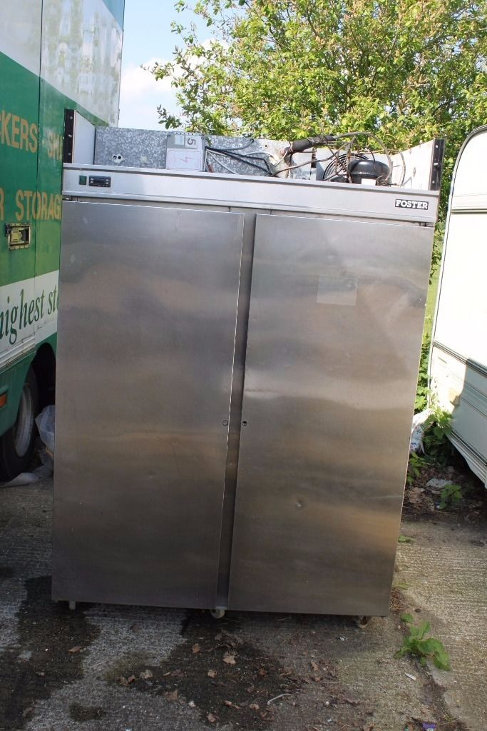Foster Double Fridge ** Spares Or Repair ** Needs Re-gas **
