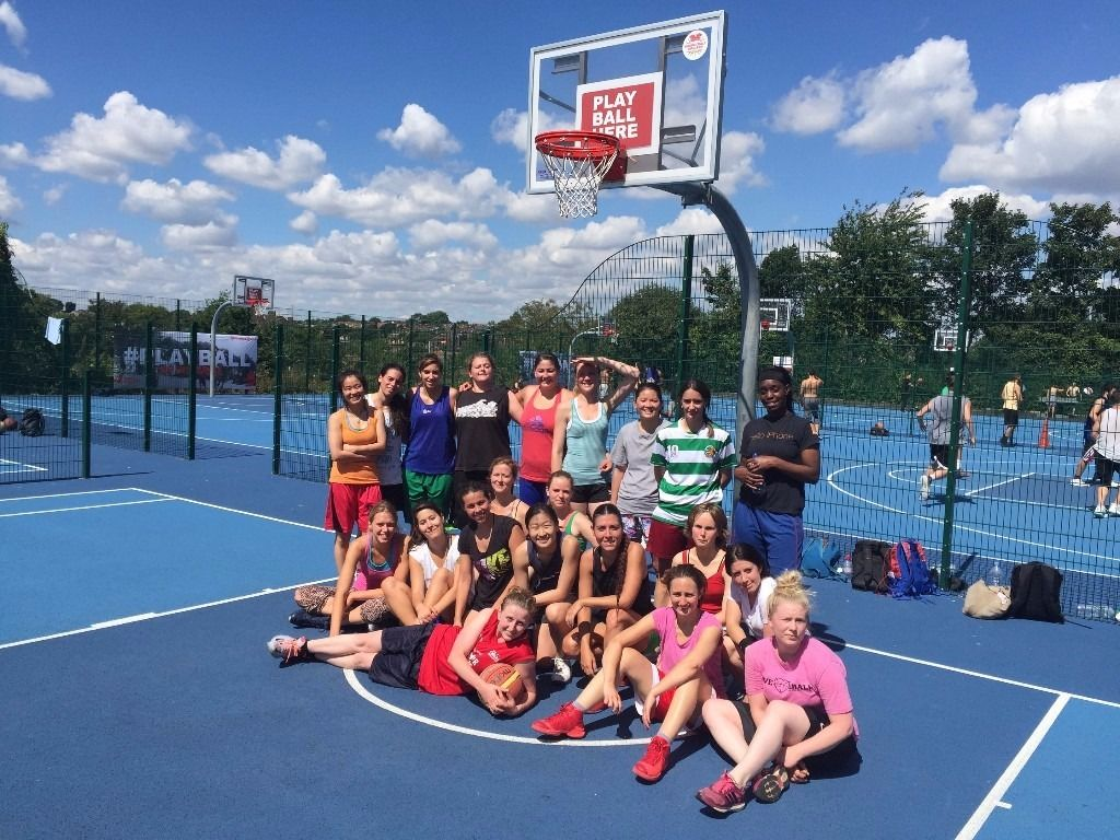 NEW WOMEN'S BASKETBALL TEAM IN LONDON - START PLAYING NOW!