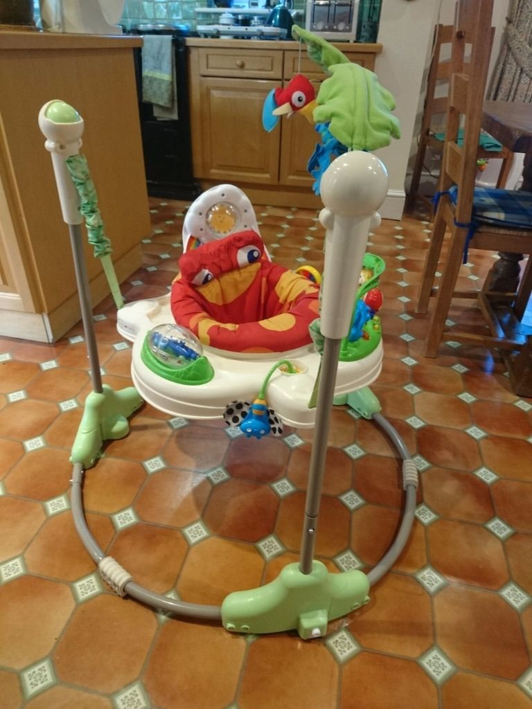 Rainforest Jumperoo fisher price bouncer