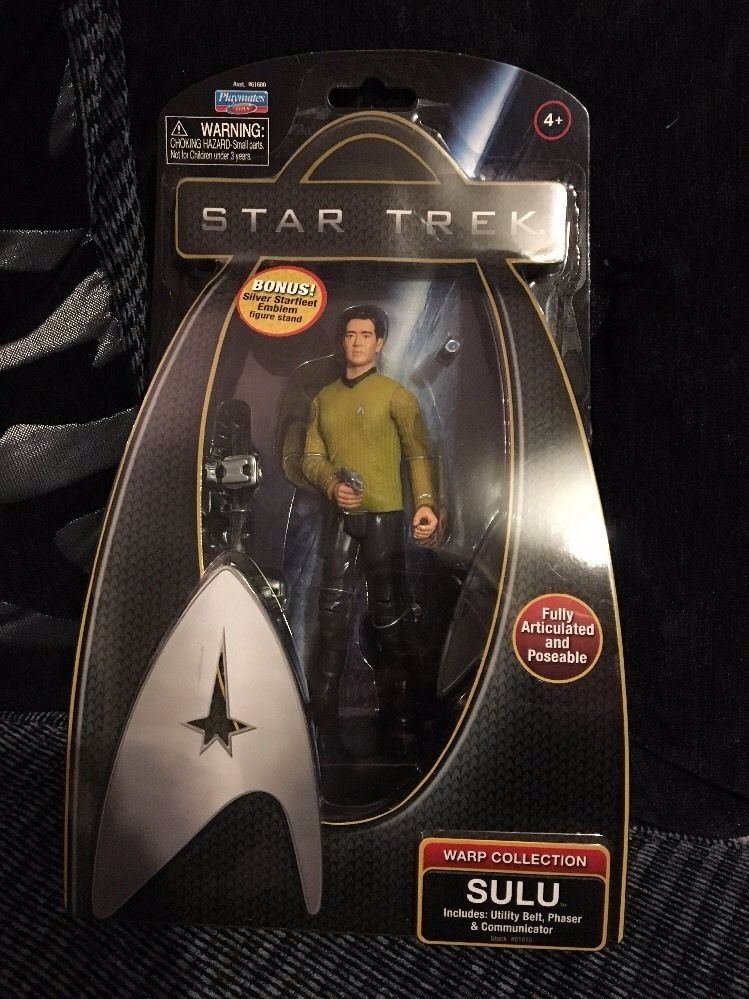 Job lot of 10 Star Trek figures - all new and in box