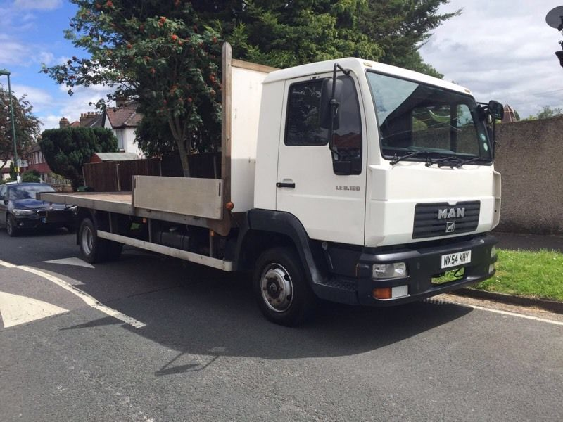 MAN 7.5kg flat back Lorry
