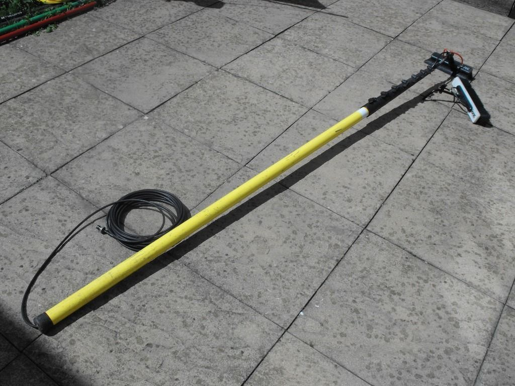 45ft Ionic carbon fibre reach water fed pole (Window cleaning)
